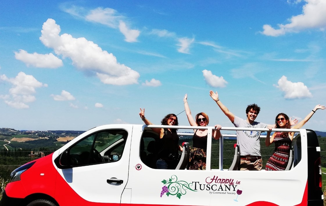 Happy in Tuscany - Van